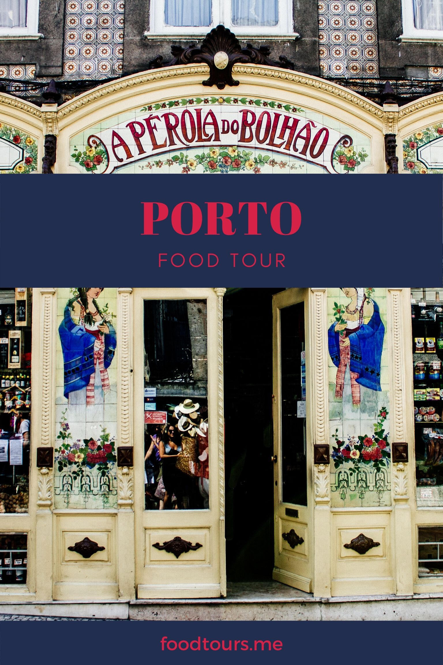 Classic Porto Shop Front